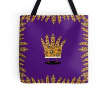 King of What, Queen of Bling Tote Bag