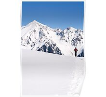 Backcountry Skier Poster