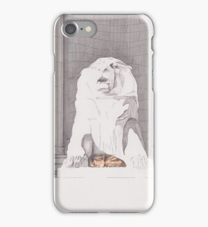 Aberdeen City War Memorial iPhone Case/Skin