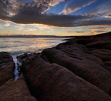 Sundown on Honeymoon by Robert Mullner