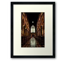 Cathedral  #11 Framed Print