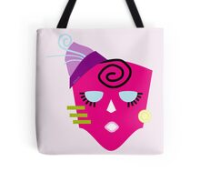 Fuschia Fashionista Tote Bag