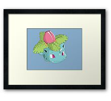 #02 Ivysaur Pokemon Framed Print