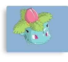 #02 Ivysaur Pokemon Canvas Print