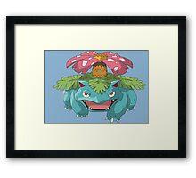 #03 Venusaur Pokemon Framed Print