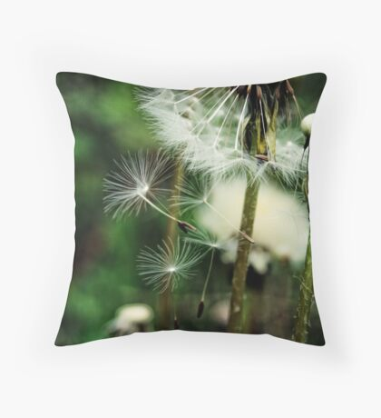 How it feels to fly Throw Pillow