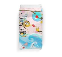 Nothing will drag you down - Duck Crab Rupydetequila Friends Duvet Cover
