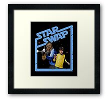 Star Trek / Star Wars Framed Print