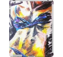 Purple Bra Model Figure iPad Case/Skin