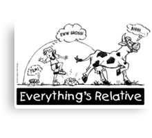 Everything is Relative Canvas Print