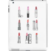 Lipstick, lipstick, lipstick! iPad Case/Skin