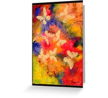 Butterfly Vestige Greeting Card