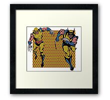 Wolverines 60s and 80s Framed Print
