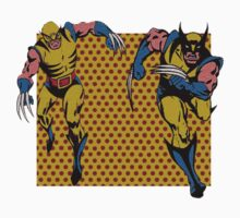 Wolverines 60s and 80s One Piece - Long Sleeve