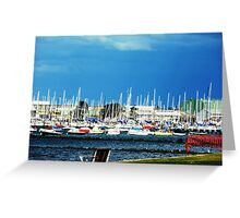 Safe Harbour - City of Williamstown - Along the Strand Greeting Card
