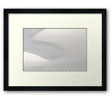 White Sands Abstract Framed Print