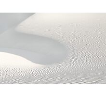 White Sands Abstract Photographic Print