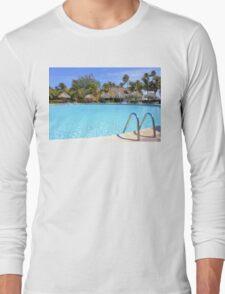 Postcard from Aruba, Caribbean Long Sleeve T-Shirt