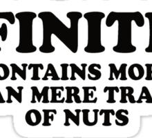 Nuts (Tee - Black Type) Sticker