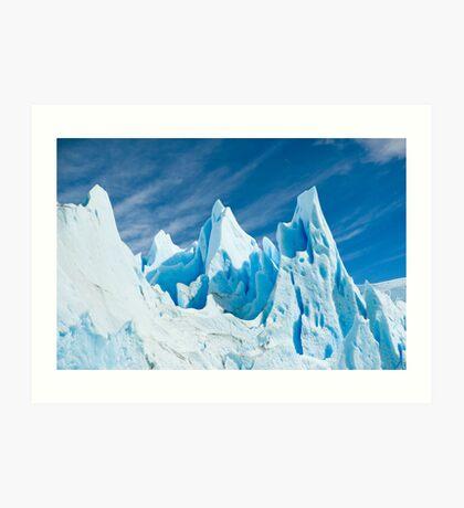 Perito Moreno glacier detail. Art Print