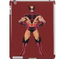 Wolverine (Red) iPad Case/Skin