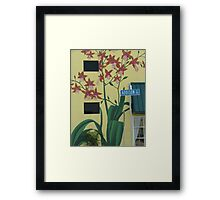 Addison Street Framed Print