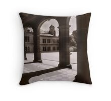 Werribee Mansion Arches Throw Pillow