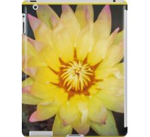 YELLOW WATER LILLY  iPad Case/Skin