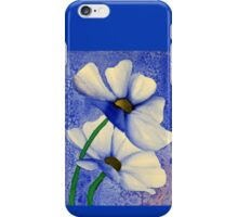Cosmea Flower Painting iPhone Case/Skin