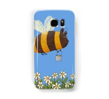 Bumble Bear with honey flies home Samsung Galaxy Case/Skin