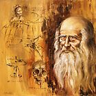 Genius ,Leonardo da Vinci by Arturas Slapsys