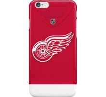 Detroit Red Wings Home Jersey iPhone Case/Skin