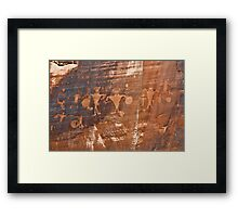 Ancients or Aliens Framed Print
