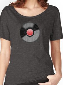 Vinyl 3 Worn Well Resize (please see notes) Women's Relaxed Fit T-Shirt