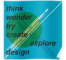 Graphic Design inspiration Poster
