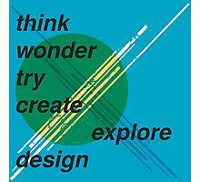 Graphic Design inspiration Photographic Print