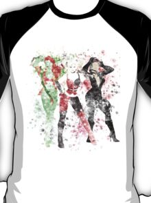 SuperVillain Trinity Splatter Graphic T-Shirt