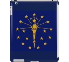 Indiana State Flag Indianapolis USA Bedspread T-Shirt Sticker iPad Case/Skin