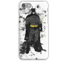Superhero Splatter Art iPhone Case/Skin