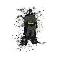 Superhero Splatter Art Photographic Print