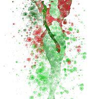SuperVillain Splatter Graphic by ProjectPixel