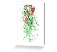 SuperVillain Splatter Graphic Greeting Card