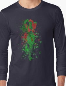 SuperVillain Splatter Graphic Long Sleeve T-Shirt