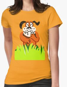 Duck Hunt game loser Womens Fitted T-Shirt
