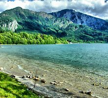Beautiful Lake Kochelsee by Daidalos