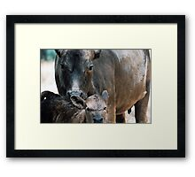 """Maternal"" Framed Print"