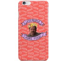less people; more food iPhone Case/Skin