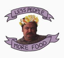 less people; more food by Rachael Michelle