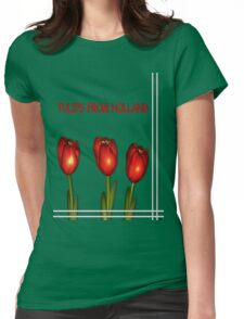 Tulips from Holland Womens Fitted T-Shirt