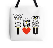 Say it with Owls Tote Bag